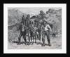 Illustration of California Prospectors by Allen Carter Redwood