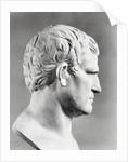 Head of Agrippa Sculpture by Corbis