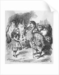 Lewis Carroll: Alice in Wonderland by Corbis
