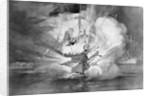 Battleship Maine Being Destroyed by Corbis