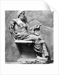 Aesculapius the Mythological Diety of Medicine and Healing by Corbis