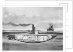 Early Submarine by Corbis