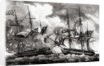 American Ship Planter Battling the French by Corbis
