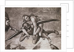 Devil Carrying Woman to Hell by Corbis