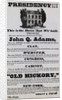 Election Poster for Andrew Jackson by Corbis