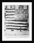Fort McHenry Battle Flag at Boston Navy Yard by Corbis