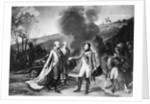 Napoleon Meeting Francis II by Corbis