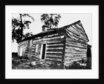 Front and East End of Abraham Lincoln Cabin from Southeast Corner by Corbis