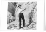 Charles Darwin Posing on South American Excursion by Corbis