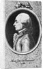 Profile Drawing of Author Saint John Crevecoeur by Corbis