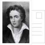Engraving After Percy Shelley by George Clint