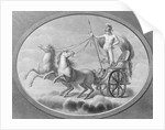 Mars Riding in Horsedrawn Carriage by Corbis