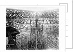 Construction Phase of Eiffel Tower by Corbis
