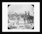 Sherman Commanding Troops by Corbis