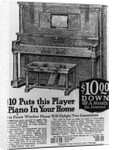Advertisement for Player Piano by Corbis