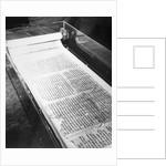 Dead Sea Scrolls on Display by Corbis