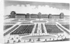 View of Garden of Tuilleries at Louvre Palace During Eighteenth Century by Corbis