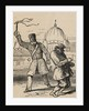 Policeman Whipping Jew by Corbis