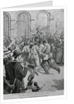 Print Showing Italians Being Lynched in New Orleans by W.E. Leigh