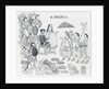 Elaborate Drawing Depicting Aztec Treaty Conference by Corbis