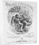 Cartoon Showing Young Girl with Drunken Dad by Corbis