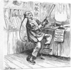 Anti Chinese Political Cartoon by Corbis