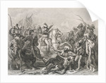 Napoleon I and His Men Fighting Egyptians by Corbis