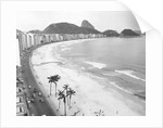 Copacabana Beach with Sugarloaf Mountain by Corbis
