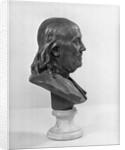 Profile of Benjamin Franklin Statue by Corbis