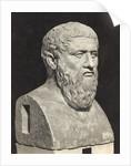 Bust of Grecian Philosopher Plato by Corbis