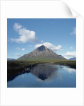 Buchaille Etive Mor Reflected in Lake by Corbis
