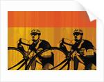 Bike racers by Corbis