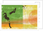 Colorful soccer action by Corbis