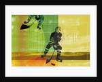 Colorful hockey by Corbis