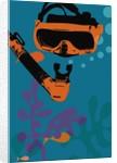 Snorkeling illustration by Corbis