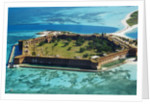 Aerial View of Fort Jefferson by Corbis