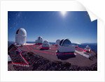 Cerro Tololo Observatory by Moonlight by Corbis