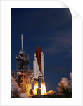 Space Shuttle Discovery Lifting Off by Corbis