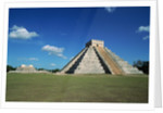Buildings at Chichen-Itza by Corbis