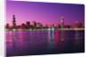 Chicago Skyline at Twilight by Corbis