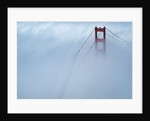 Fog Surrounding Golden Gate Bridge by Corbis