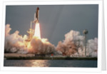 Space Shuttle Columbia Launching on STS-9 by Corbis
