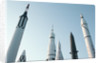 Rockets at Rocket Park by Corbis