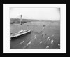 Cruise Ship Entering New York's Harbor by Corbis