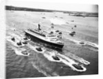 Cruise Ship Entering New York's Harbor by Corbis