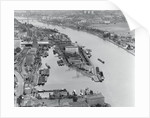 Barges on Rhine by Corbis
