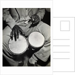 Man Playing the Bongo Drums by Corbis
