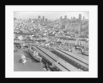 View of Fisherman's Wharf and Docks by Corbis