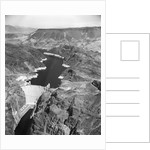 Aerial View of Hoover Dam by Corbis