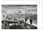 European Steamers Setting Out to Sea by Corbis